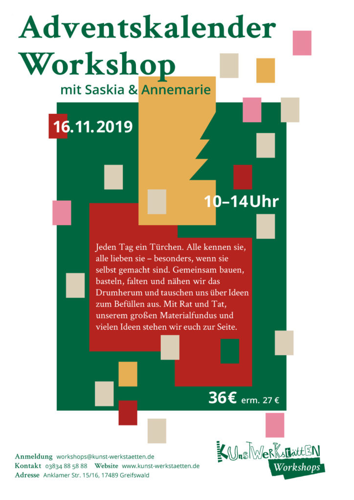 adventskalenderworkshop