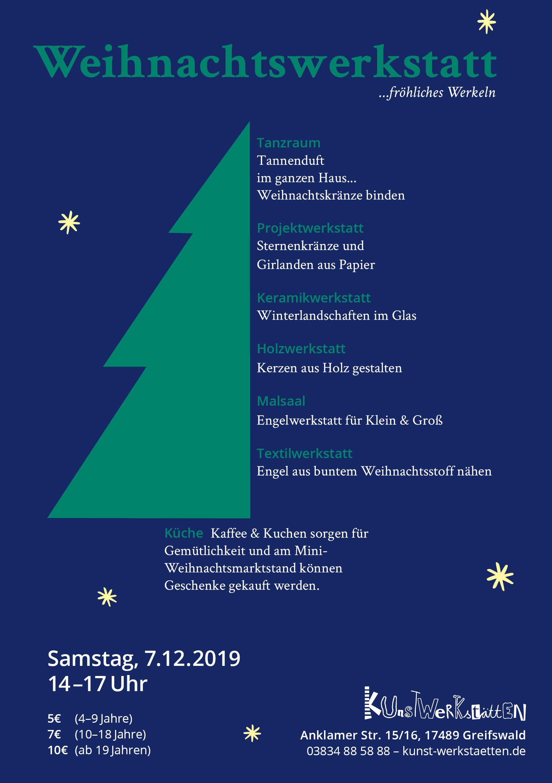 Weihnachtswerkstatt 2019