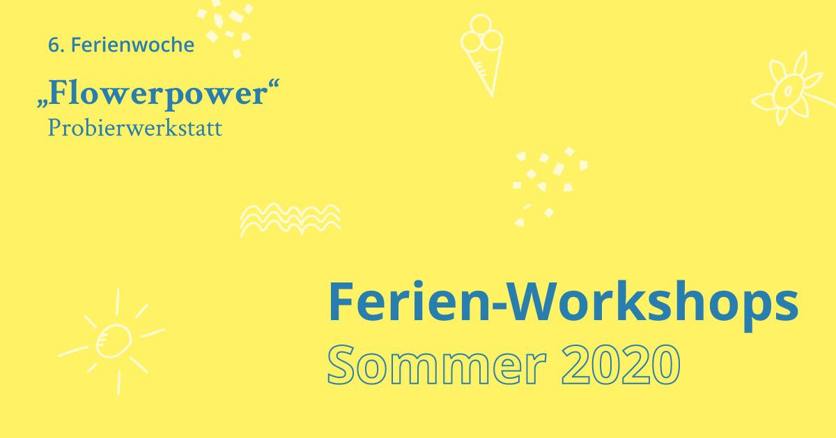 Ferien Workshop Flowerpower