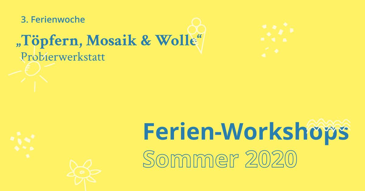 Ferien Workshop Probierwerkstatt